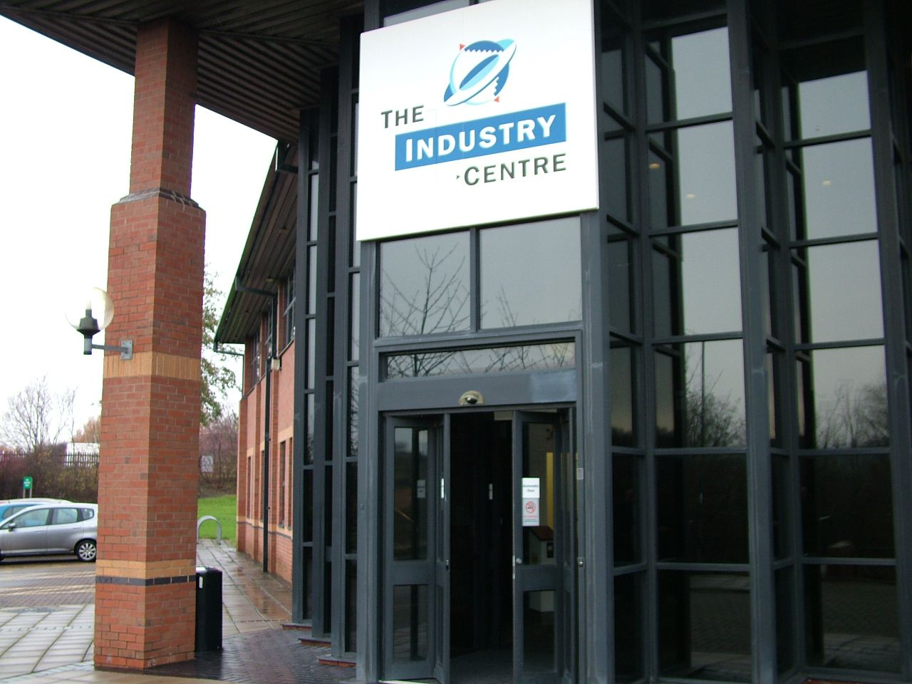 Outside of The Industry Centre